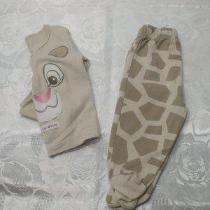 Lion King 2 Piece Pyjamas Baby 6 Months